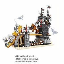 Castle Bridge Knights 6 luchadores 459 un. Caja Tower Set Compatible ladrillos #27701