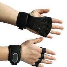 1 Pair Fitness Gloves Weight Lifting Gym Workout Training Wrist Wrap Strap Glove