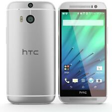 "HTC One M8 Phone Android 5"" Full HD 32GB Dual 4MP Camera NFC LTE Unlocked Silver"