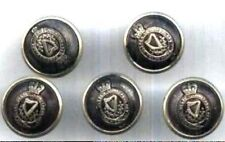 5  Original Royal Ulster Constabulary R.U.C Tunic Buttons
