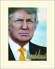 DONALD TRUMP REPUBLICAN PRESIDENT NOMINEE PP MOUNTED 8X10 SIGNED AUTOGRAPH PHOTO