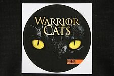 1 pegatinas a Warrior Cats aproximadamente sticker Beltz & gelberg editorial!!!
