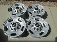 "17"" GMC CHEVY 2500 HD DURAMAX OEM FACTORY STOCK STEEL WHEELS RIMS 8X180"
