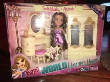 Bratz World Mansion Yasmin Mirror Closet Wardrobe Vanity Bedroom House Furniture