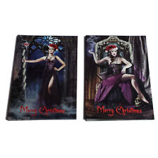 Alchemy Gothic Victoria Frances Alternative Rocker Christmas Card 10 Pack