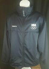 United States Olympic Committee USA  FullZip Track Jacket  Size XL SOCHI  2014