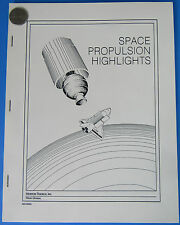 MORTON THIOKOL BROCHURE BOOKLET vtg NASA Space Propulsion Space Shuttle