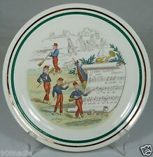 VINTAGE FRENCH PLATE,SIGNED,NUMBERED,MUSIC,OPERA,PV,BUIELDIFU,# 7