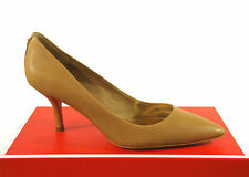 Coach Pointy Toe Pumps Zoee Sheep Leather Camel Size: 5.5