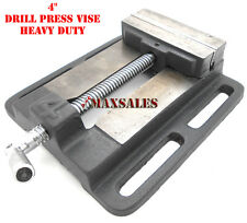 "4"" Drill Press Vise Pipe Clamping Holding 3-3/4"" Throat Open Workbench Drill"