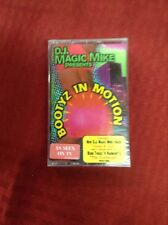 D.J. MAGIC MIKE   Bootyz In Motion   CASSETTE   Rare!!!  Hip-Hop Sealed