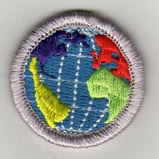 "Citiz. in the World Merit Badge, Type K, ""BSA 2010"" Back (2010-12), Mint!"