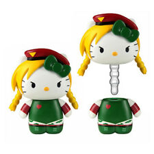 *NEW* Hello Kitty x Street Fighter: Cammy Mobile Plug by Toynami