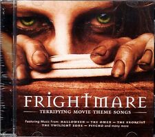 FRIGHTMARE: TERRIFYING MOVIE THEME SONGS RARE HORROR SOUNDTRACK MUSIC THEMES CD!