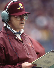 Washington Redskins Coach JOE GIBBS Glossy 8x10 Photo Print Football Poster HOF