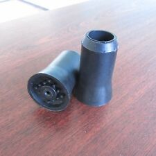 RUBBER TIP For Wood Wooden Cane Walking Stick 2 pieces HIGH QUALITY