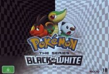 POKEMON : BLACK & WHITE COLLECTOR'S SET - DVD -  UK Compatible -Sealed