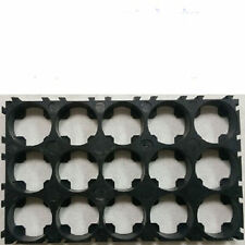 2pcs 15x18650 Battery 3 x5 Cell Spacer Radiating Shell EV  Plastic Heat Holder