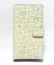 Lovely Cute Girl Flip Leather Wallet Pouch Case Cover For Nokia Mobile Phones