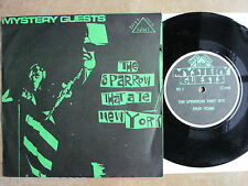 """MYSTERY GUESTS - The Sparrow That Ate New York  7"""" Single Boys Own Label – BO 3"""