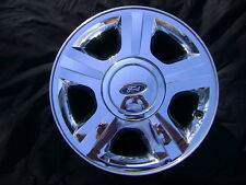 "05 06 FORD EXPEDITION 17"" 17x7.5 Chrome Clad Factory OEM Rim Wheel & Cap 3593"