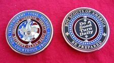 GOOD TURN DAILY Challenge Coin Boy Scout Slogan Motto Law Cub Scouts SPIN FLIP