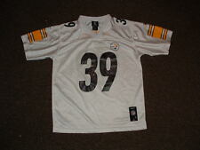 WILLIE PARKER #39 STEELERS WHITE PREMIER FOOTBALL JERSEY YOUTH LARGE u
