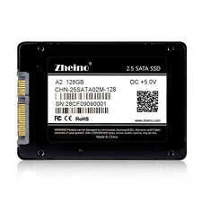 "Zheino A2 128GB SSD 256M Cache 2.5""SATA 3 SSD For Dell HP Lenovo Laptop PS3 PS4"