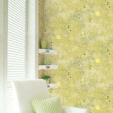Green Wallpaper Bird Cage Pattern Home Decor Idea Self Adhesive Vinyl Peel Stick