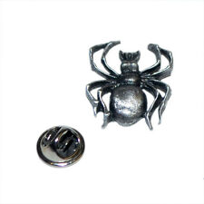SPIDER Insect bug British Pewter Pin Badge Tie Pin / Lapel Badge  XDHLP765