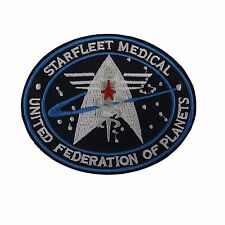 Star Trek Starfleet Medical United Federation of Planets Embroidered Patch