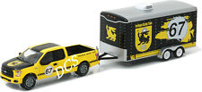 GREENLIGHT HITCH & TOW 2015 FORD F-150 & TERLINGUA RACING TRAILER 1/64 32090-c