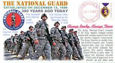COVERSCAPE computer designed 380th anniversary of The National Guard event cover