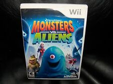 Monsters vs. Aliens  (Wii, 2009) EUC