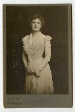 Vintage Cabinet Card Effie Shannon American stage and silent screen actress