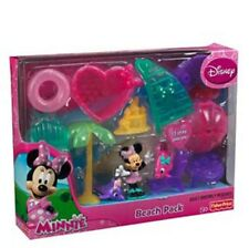 Fisher Price Minnie Mouse Beach Pack Figurine Play set Playset