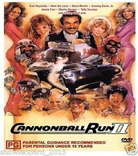 Cannonball Run 2 DVD Burt Reynolds Dean Martin New and Sealed UK Release R2