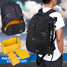 Waterproof SLR DSLR Camera Backpack Rucksack Travel Bag 17'' Laptop Bag Daypack
