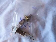 DEUX AMPOULES H1 24 VOLT 70 WATTS . NEUVES . POIDS LOURD . CAMION...