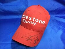 Indy 500 2005 DAN WHELDON HAND SIGNED Firestone Racing Hat NEW UNWORN
