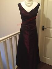 Size 8 Maroon BHS - Bridesmaid / Prom Dress / Gown