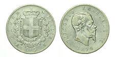 pcc1632_4) Regno Vittorio Emanuele II lire 5 scudo 1874