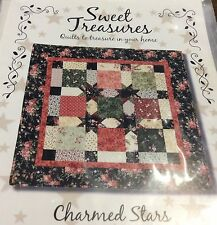 CHARMED STARS QUILT PATTERN FROM SWEET TREASURES