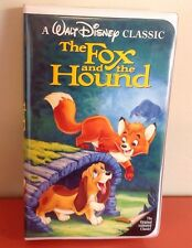 Walt Disneys The Fox and the Hound VHS VIDEO TAPE MOVIE