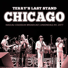 CHICAGO New Sealed 2016 FINAL 1977 CONCERT w TERRY KATH 2 CD SET