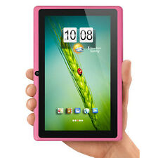 """7"""" inch 3G Multi-touch Android 4.2 Dual Core Wifi Tablet PC Dual Camera Pink"""