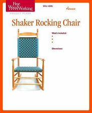 Fine Woodworking's Shaker Rocking Chair Plan by Fine Woodworking Magazine...