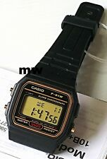 New Casio Classic F-91WG-9 Black Resin Retro Digital Quartz Watch F91 F91W F91WG