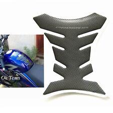Carbon Fiber Tank Pad Tankpad Protector Sticker Motorcycle Universal Fishbone
