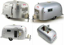 1:18 Motor City - Airstream Aluminium Camper Trailer Wohnwagen